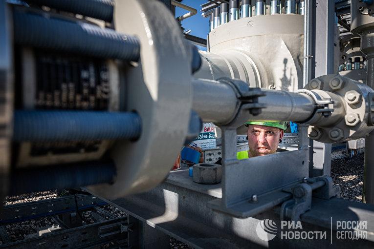 Газораспределительный центр магистрального газопровода «Северный поток — 2»