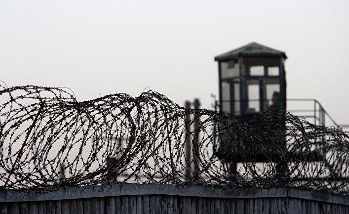 Охранный периметр Минской исправительной колонии