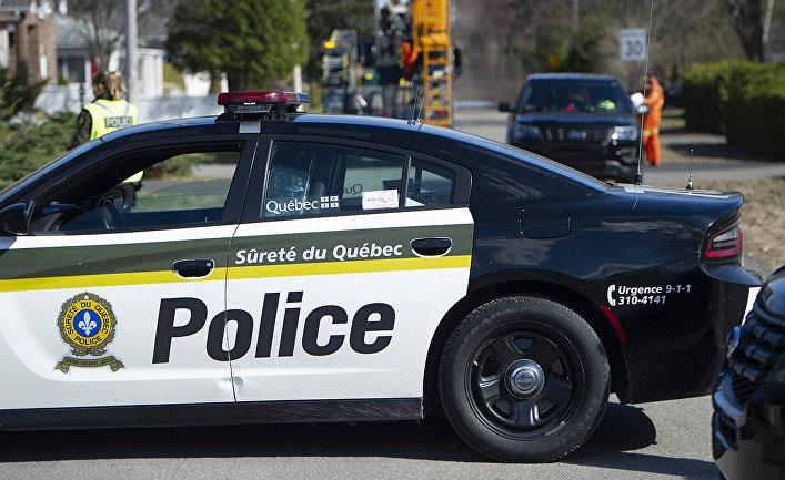 Полицейский автомобиль в Канаде