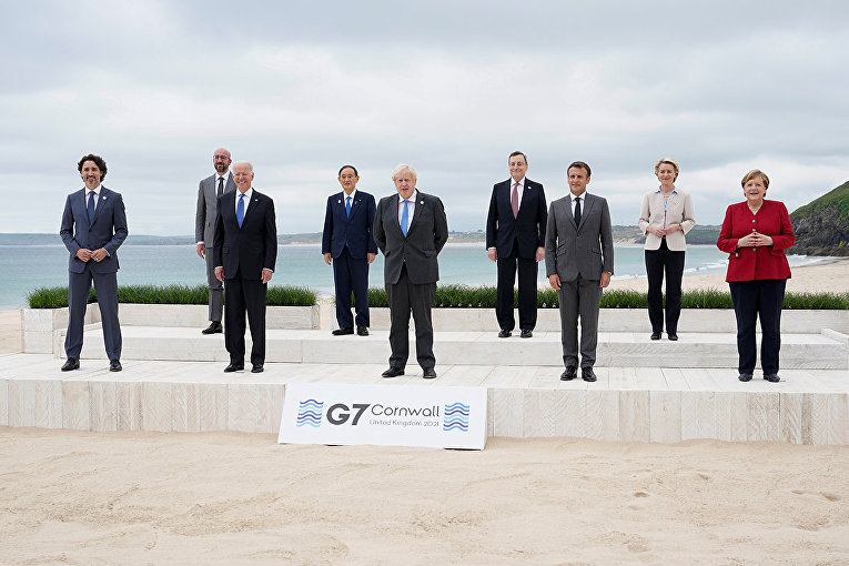 Лидеры стран G7 в Сент-Айвз, Корнуолл