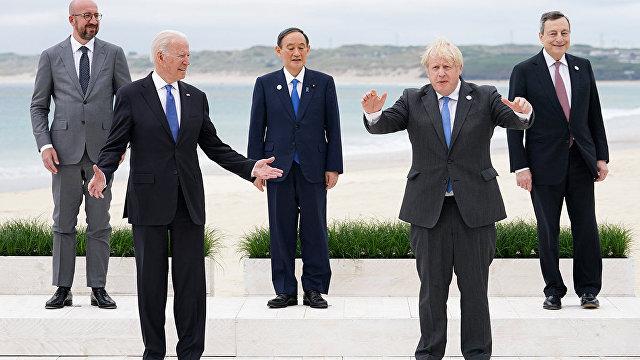 The New York Times (США): Байден пытается сплотить страны Большой семерки, чтобы совместно выступить против влияния Китая