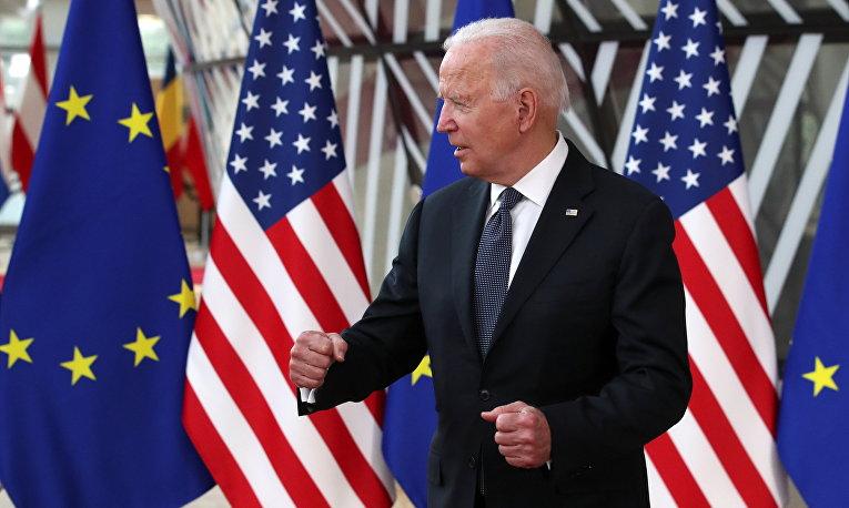 Джо Байден на саммите США-ЕС в Брюсселе
