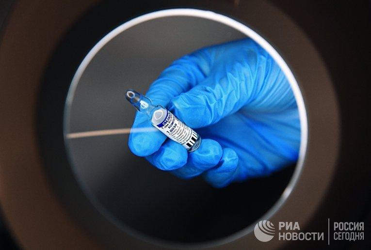 Проведение вакцинации от COVID-19 мобильными бригадами в Новосибирске