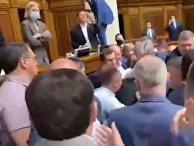 Депутаты Рады устроили драку во время заседания