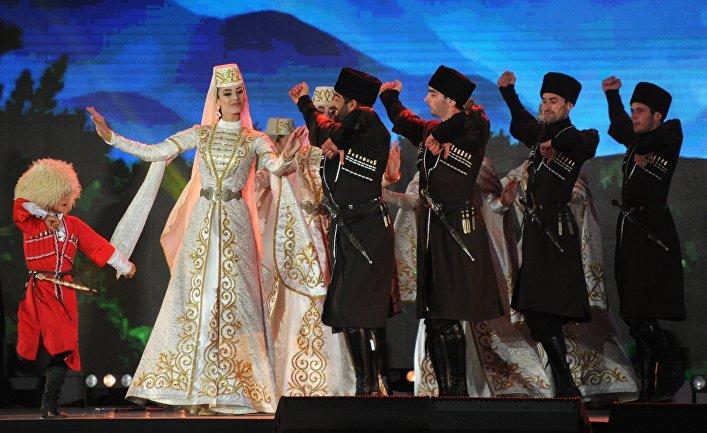 Празднование 250-летия единения Ингушетии с Россией