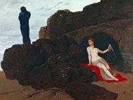 «Одиссей иКалипсо», Арнольд Бёклин, 1883