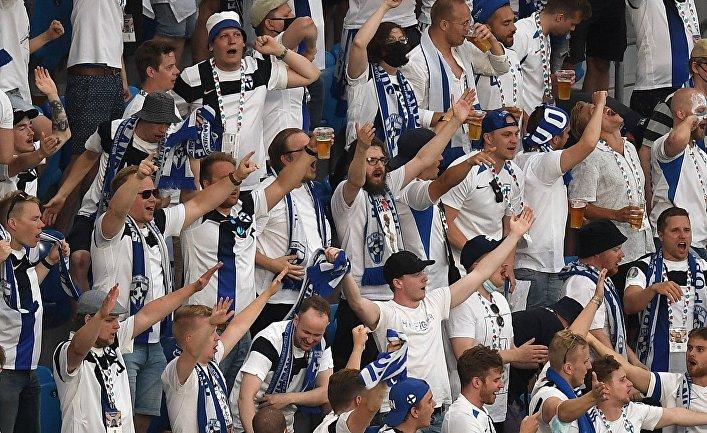 Футбол. ЧЕ-2020. Матч Финляндия - Бельгия