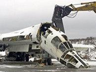 Уничтожение бомбардировщика Ту-160 в рамках программы по «совместному уменьшению угрозы»