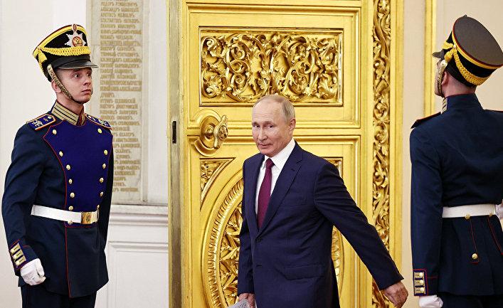 Президент РФ Владимир Путин встретился c членами олимпийской сборной России