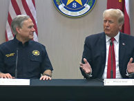 Трамп участвует в брифинге по безопасности границ