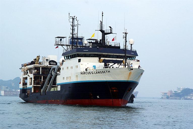 Исследовательское судно Marcus Langseth
