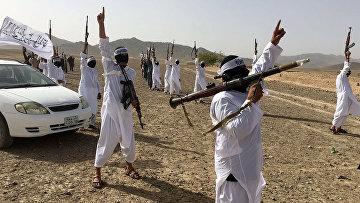 Последователи течения Талибана Mahaaz-e-Dadullah