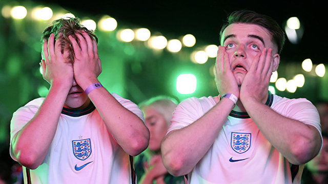 Daily Mail (Великобритания): Англия проиграла в финале Евро-2020 в серии пенальти