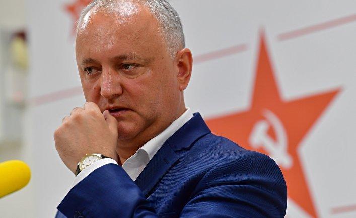 Пресс-конференции по итогам парламентских выборов в Молдавии