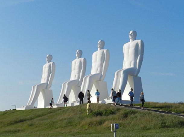 «Человек встречает море», Эсбьерг, Дания