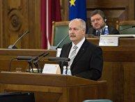 Эстонский политик Хенн Пыллуаас