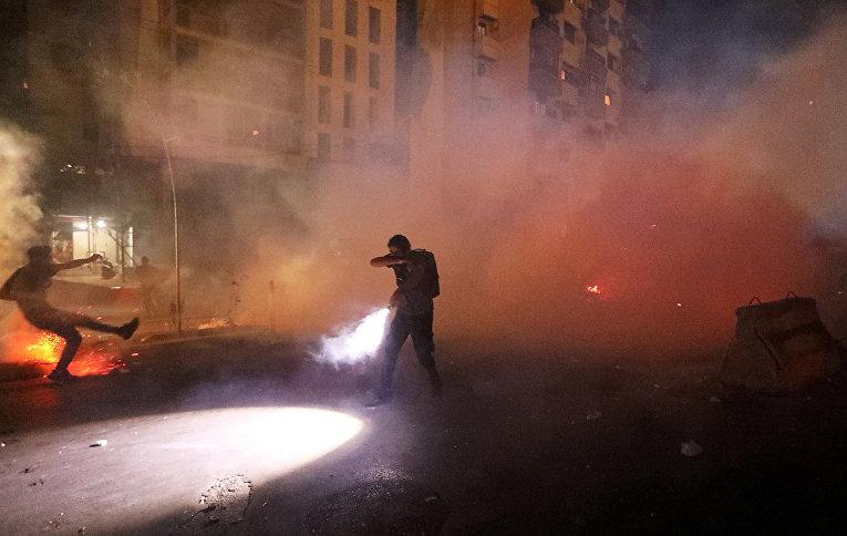 Беспорядки в Бейруте, Ливан