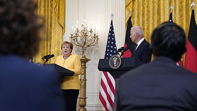 Хуаньцю шибао (Китай): Германия по-прежнему одной рукой защищается от США