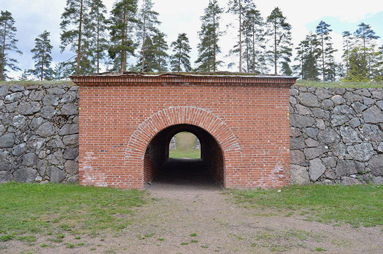 Давыдовская крепость, Финляндия