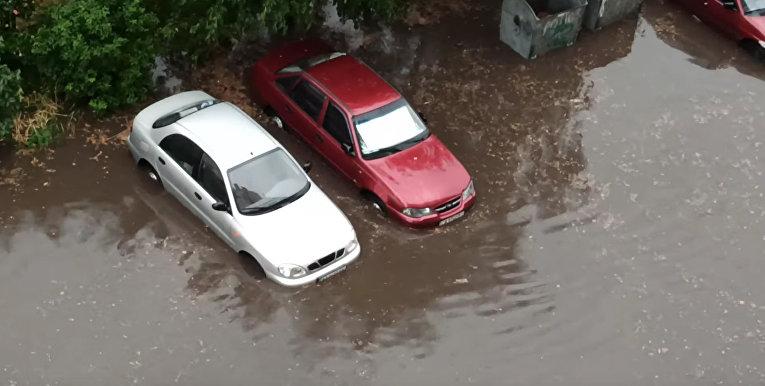 Дождь в Киеве
