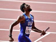 Спринтер Ноа Лайлс, член сборной США по легкой атлетике