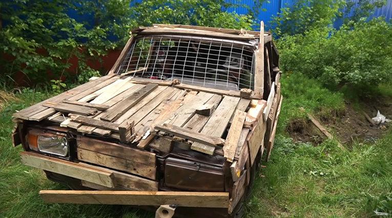 Купили на аукционе автомобиль за 120 тысяч, а он оказался деревянным!