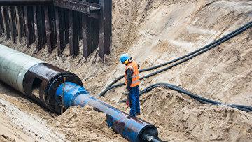 Строительство газопровода «Северный поток — 2» в Германии
