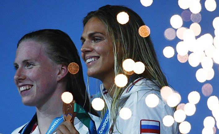 Лилли Кинг и Юлия Ефимова — призеры XVII Чемпионата мира по водным видам спорта в Будапеште