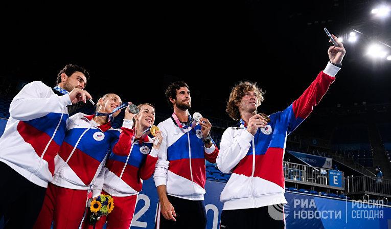 Олимпиада-2020. Теннис. Микст. Финал