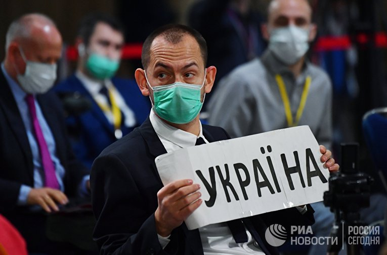 Журналист украинского агентства УНИАН Роман Цимбалюк