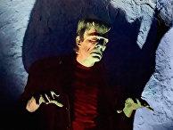 Гленн Стрейндж в роли Чудовища Франкенштейна