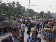 Ввод войск в Москву 19 августа 1991 года. Августовский путч 1991 года