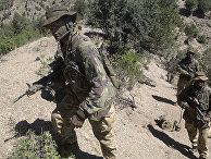 Британский спецназ в Афганистане в 2002 году