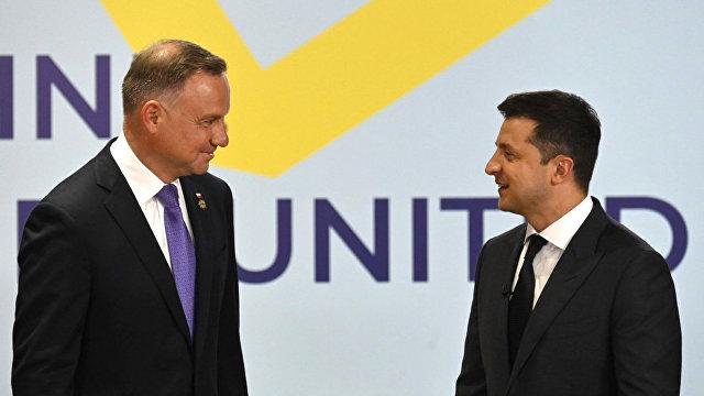 Анджей Дуда: Украине нужна международная солидарность (Interia, Польша)