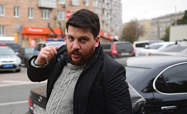 Глава предвыборного штаба Алексея Навального Леонид Волков