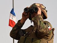 Солдат французской армии в Мали