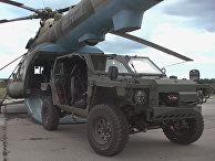 Применение новейших легких багги «Сармат-2» в ходе ССУ «Запад-2021» на полигоне Мулино